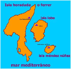 islas columbretes isla horadada