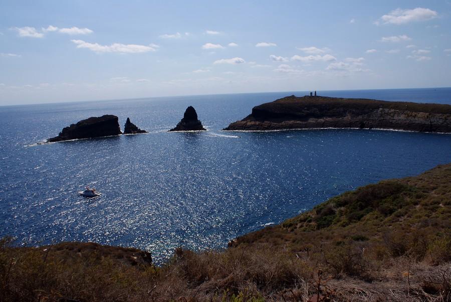 Foto Islas Columbretes desde Illa Grossa