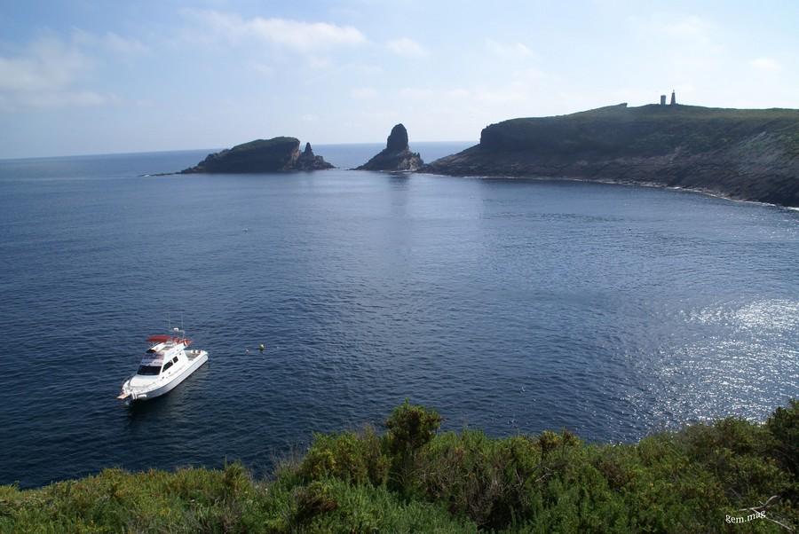 Islas Columbretes Vista desde la Illa Grossa