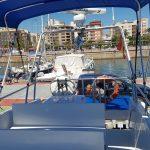 Catamaran hacia islas columbretes desde castellon